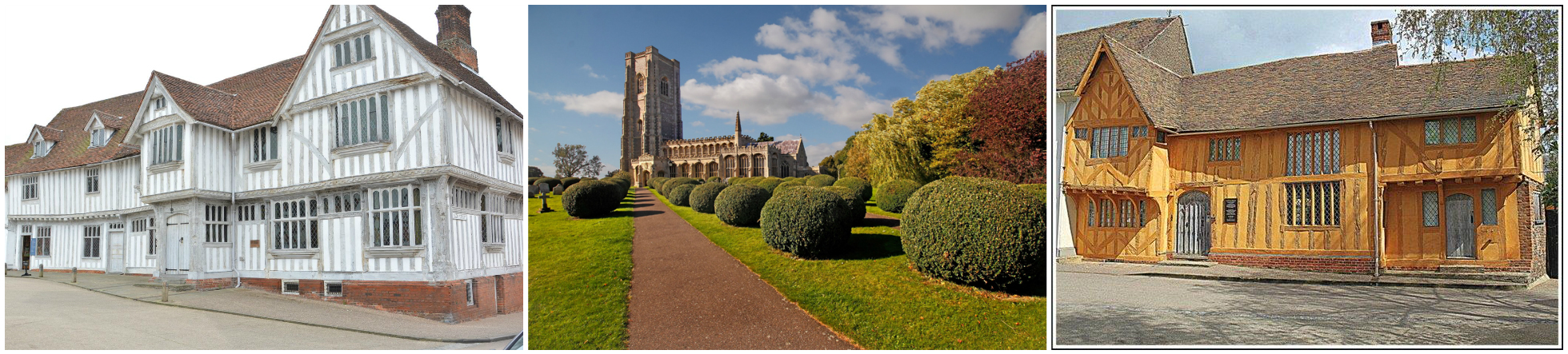 Explore Lavenham in Suffolk