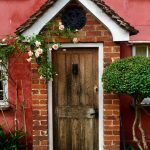 Front Door Market Keepers Cottage Lavenham